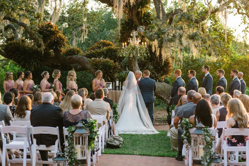 Jennifer Matteo Event Planning – Sarasota wedding planner – Sarasota luxury wedding planner – Sarasota weddings- Sarasota luxury weddings – Marie Selby Botanical Gardens – Marie Selby Gardens – Marie Selby Gardens wedding - outdoor wedding ceremony