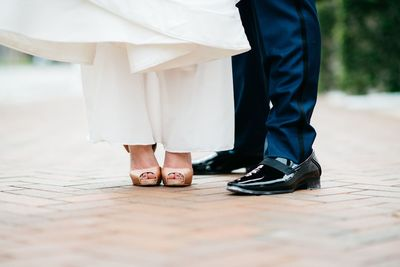 Sarasota wedding -Jennifer Matteo Event Planning - Sarasota Wedding Planner - show us your shoes