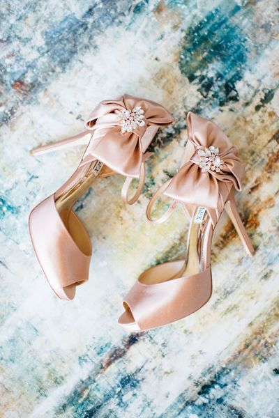 Sarasota wedding -Jennifer Matteo Event Planning - Sarasota Wedding Planner - Badgley Mischka Shoes