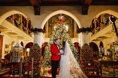Jennifer Matteo Event Planning – Sarasota Wedding Planner – Florida Luxury Wedding Planner – Ringling Wedding – Sarasota Wedding - Ringling holiday wedding - Christmas at the Ringling